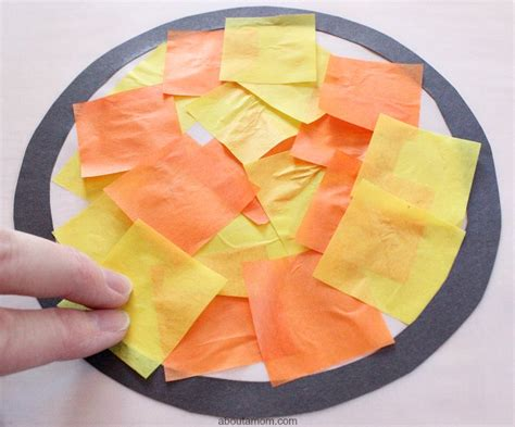 Tissue Paper Stained Glass Craft For - tissue paper stained glass for about a