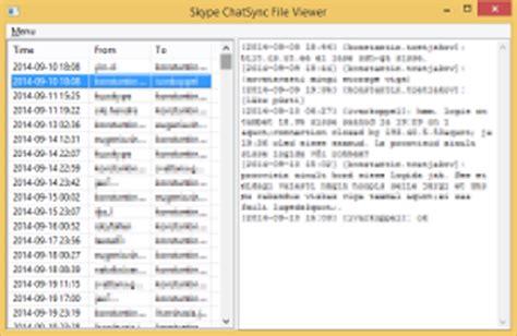 log file reader windows skype chatsync reader 183 pypi