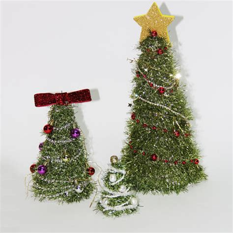 garland christmas tree craft images