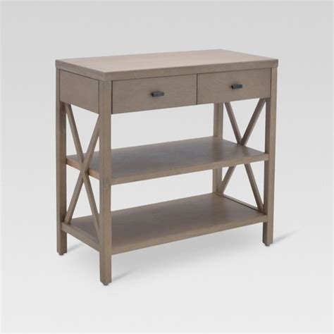two shelf console table owings console table with 2 shelves and drawers rustic