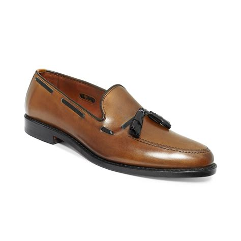 allen edmonds loafer allen edmonds grayson tassel loafers in brown for