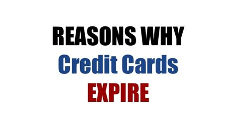 Gift Card Expiration - reasons why credit cards expire