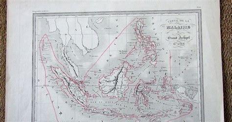 Peta Antik Batavia Jadoel koleksi tempo doeloe peta antik indonesia di jaman