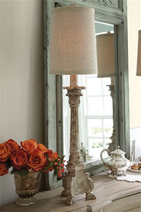 candlestick buffet lamp traditional table lamps