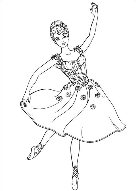 barbie coloring pages 2 coloring pages to print