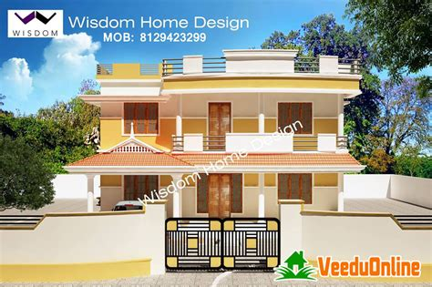 double floor modern style home design 2015 wisdom archives page 2 of 3 veeduonline