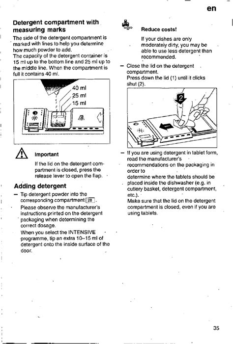 Bosch Silence Auto 3in1 Bedienungsanleitung Pdf by Handleiding Bosch Sgi4665 Silence Pagina 35 97