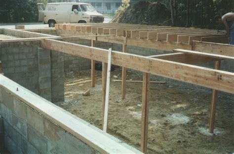 build a basement charles hayden s house pictures