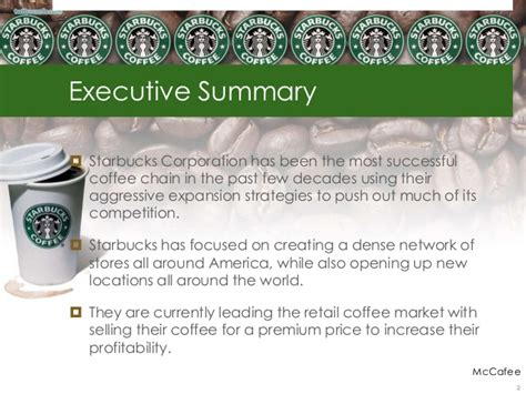 Starbucks Competitive Analysis Starbucks Powerpoint Template