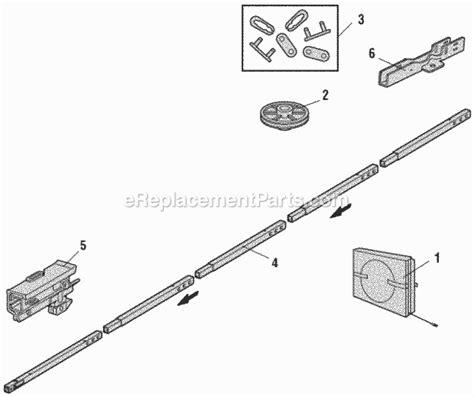 Chamberlin Garage Door Opener Parts Chamberlain Hd920ev Parts List And Diagram Ereplacementparts