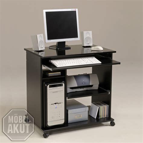 Schreibtisch Weiß Schwarz Hochglanz by Schreibtisch Quot Deskmax 2 Quot Pc Tisch Schwarz Hochglanz Neu