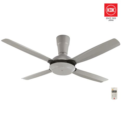 Ceiling Fan 56 In Kdk Wz56p kdk 56 quot ceiling fan with remote grey color my power tools