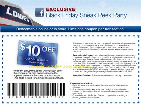 printable coupons 2017 lowes coupons
