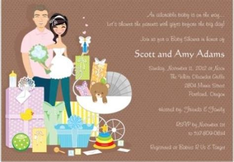 chic coed baby shower invites for your