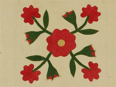 quilt pattern rose of sharon civil war gallery rose of sharon quilt c 1843