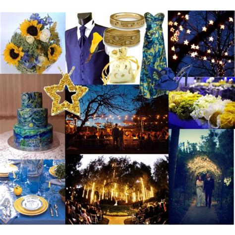 starry starry night wedding theme fantastical wedding