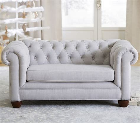 pottery barn chesterfield sofa chesterfield mini sofa pottery barn