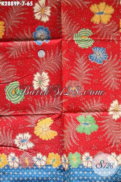 Kain Batik Printing Bahan Katun Halus jenis kain batik bahan busana wanita kain batik printing keren halus harga 65k kwalitas