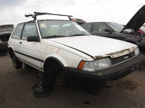 1988 Toyota Corolla Junkyard Find 1988 Toyota Corolla The About Cars