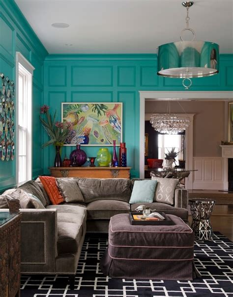 classic meets eclectic transitional family room