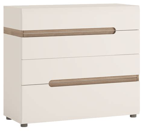 Gloss Chest Of Drawers abdabs furniture chelsea chest of drawers gloss white