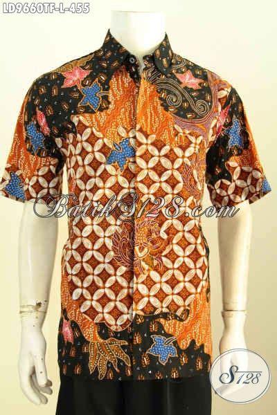 Hem Batik Katun Furing Pj Kemeja Batik Terbaru Batik Kantor M 2 hem batik pria size l kemeja batik halus furing
