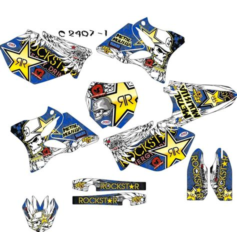 mx dekore yz 125 250 mx kingz motocross shop