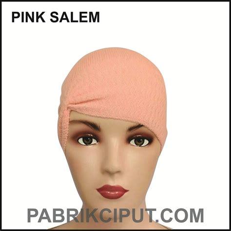 Ciput Pet Anti ciput rajut anti pusing kerut warna pink salem pabrik ciput 089669999212 produsen ciput