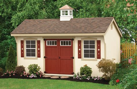 Backyard Wood Sheds by Grandewood Classics Storage Sheds Backyard Beyond