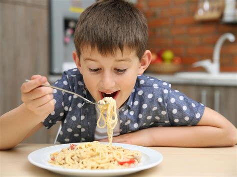 Kid Jp Mkburgers why it s okay if your kid eats pasta all the time parents