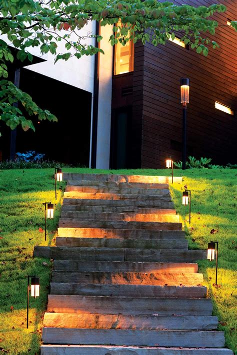 Outdoor Home Lighting Pack Of 10 Solar Garden Path Lights Outdoor Path Lighting Fixtures