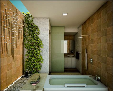 Desain Kamar Mandi Natural Minimalis | desain kamar mandi minimalis nuansa alam house