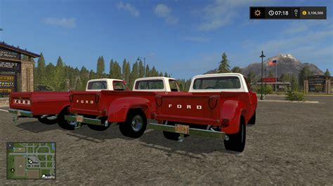 ford   triple pack  ls farming simulator   mod