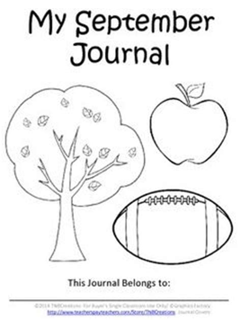 printable monthly journal covers kindergarten writing on pinterest 241 pins
