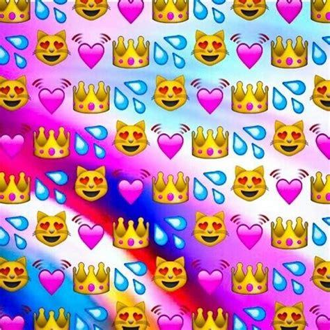 emoji wallpaper hearts emoji image 3944438 by bobbym on favim com