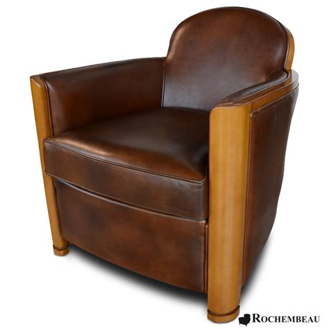 cardiganclub armchair rochembeau sheepskin leather club chair