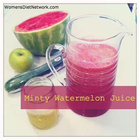 Watermelon Detox Juice Recipe by Refreshing Minty Watermelon Juice 2 Cups Seedless