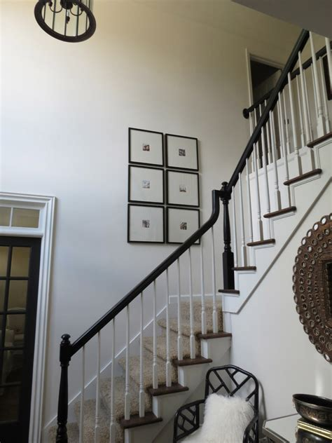 How To Paint A Banister Black by Tiffanyd The Banisters Go Black