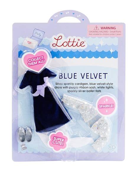 lottie doll blue velvet blue velvet lottie 055941 details rainbow