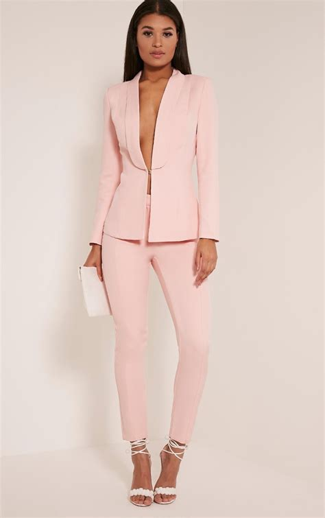 avani pink suit pants alumni weekend formal pant suits