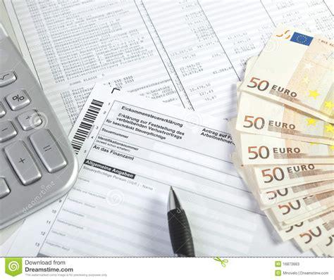 german wage calculator german income tax stock photos image 16873663