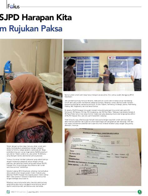 Obat Obat Penting Oop Cetakan Ke 6 Edisi 3 majalah info bpjs kesehatan edisi 6 tahun 2014