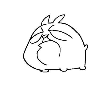 dibujos de perros para colorear dibujosnet dibujo de caricatura perro shar pei para colorear