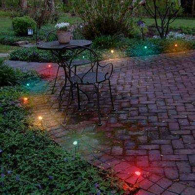 christmas path lights yard stakes outdoor christmas