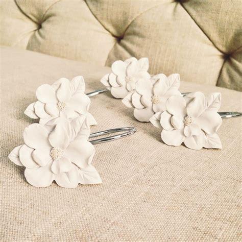 floral shower curtain hooks lc lauren conrad for kohl s flower shower curtain hooks