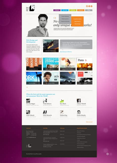 web design studio joomla template 44563