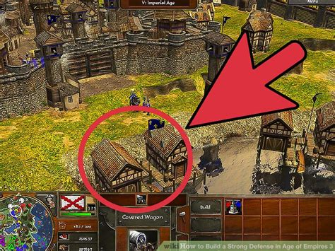 age of empires best how to build a strong defense in age of empires 3 6 steps