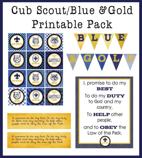 cub scout blue and gold program template gold wrapper cliparts free clip free clip
