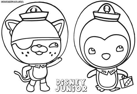disney junior coloring pages coloring pages to download