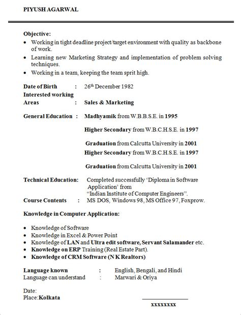 Resume Format For Phd Students Student Resume Template 21 Free Sles Exles